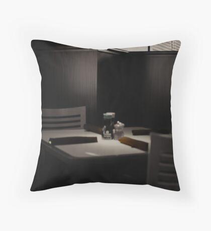 Quiet Corner Throw Pillow