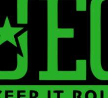 Rogue Fuego (Green) Sticker