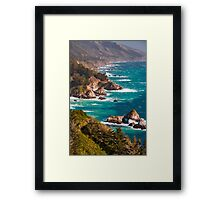 Big Sur California Central Coast Framed Print