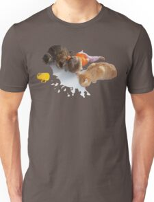 Cats and Toddler Milk friends Unisex T-Shirt