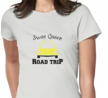 Swan Queen Road Trip Womens Fitted T-Shirt
