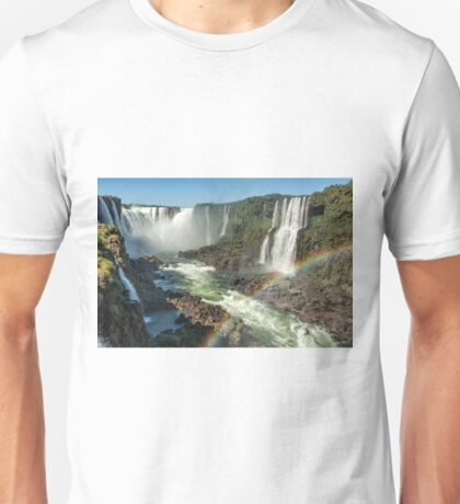 Rainbow over the River Unisex T-Shirt