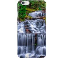 Beautiful Autumn day at Wagner Falls  iPhone Case/Skin