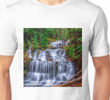Beautiful Autumn day at Wagner Falls  Unisex T-Shirt