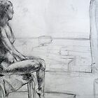 Figure Drawing by Beka Judd