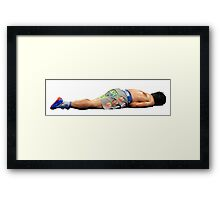 Pacquiao Knocked Out Framed Print