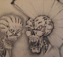 Skull Heads by DanteThomas