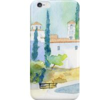 Poros Monastery iPhone Case/Skin