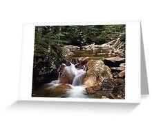 Franconia Notch NH Greeting Card