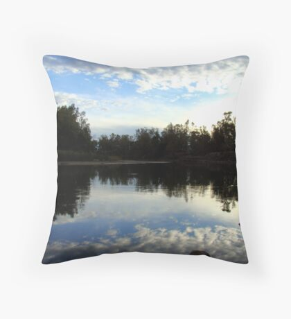 dusk reflected ~ a touch of heaven Throw Pillow
