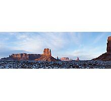 Monument Vally Mitten Panorama Photographic Print
