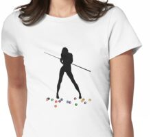 Pool Girl Womens Fitted T-Shirt