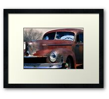 The Color of Rust  Framed Print