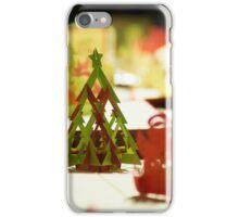 Navidades de papel iPhone Case/Skin