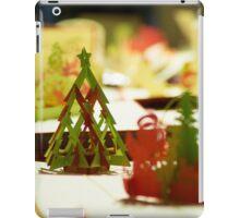 Navidades de papel iPad Case/Skin