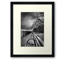 Brooklyn Heights Promenade Framed Print