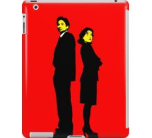 X files Scully and Mulder iPad Case/Skin