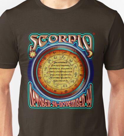 ASTROLOGY = SCORPIO Unisex T-Shirt