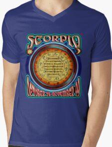 ASTROLOGY = SCORPIO Mens V-Neck T-Shirt
