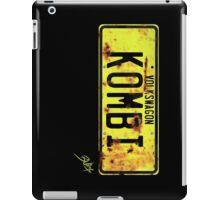 Volkswagen Kombi Plate iPad Case/Skin