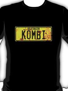 Volkswagen Kombi Plate T-Shirt