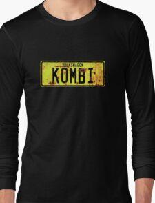 Volkswagen Kombi Plate © Long Sleeve T-Shirt