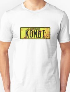 Volkswagen Kombi Plate © Unisex T-Shirt