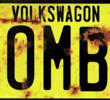 Volkswagen Kombi Plate © Sticker