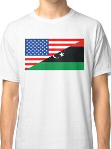 usa libya Classic T-Shirt