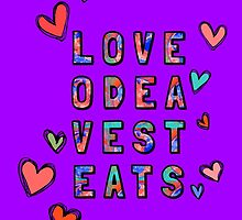Love Odea Vest Eats – Two by alannarwhitney
