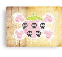 ♥ [ Strawberry Pirate Kisses ] ♥ Canvas Print