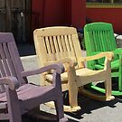 Chairs  by June Tapia