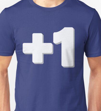 Plus One Unisex T-Shirt