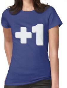 Plus One Womens Fitted T-Shirt