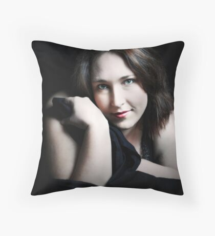 Self Portrait #2 Throw Pillow