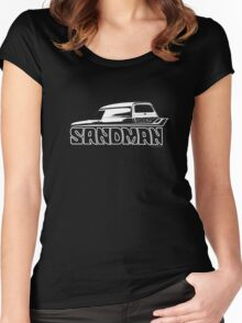 Holden Sandman Panel Van © Women's Fitted Scoop T-Shirt