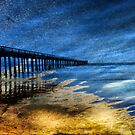 Pier in Abstract by bouldercreek