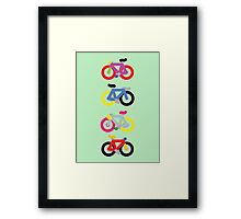 Fatty Fixie by Jeppe K Ringsted Framed Print
