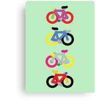 Fatty Fixie by Jeppe K Ringsted Canvas Print