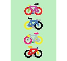 Fatty Fixie by Jeppe K Ringsted Photographic Print