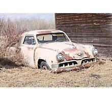 Hidden Treasure - 1953 Studebaker Coupe Photographic Print