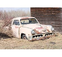 Hidden Treasure - 1953 Studebaker Coupe Photographic Print