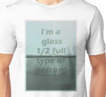 1/2 Full T-Shirt Unisex T-Shirt