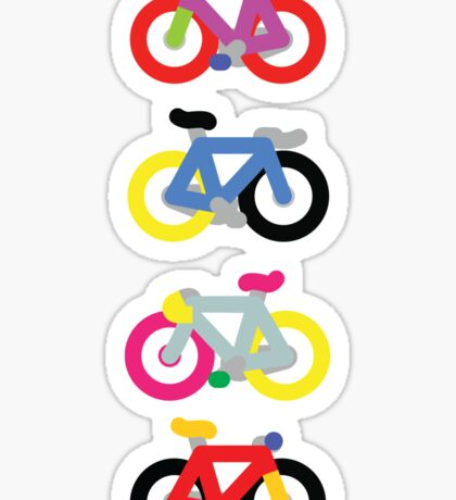 Fatty Fixie by Jeppe K Ringsted Sticker