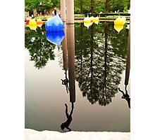 Your World Upside Down Photographic Print