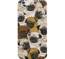 Social Pugz  iPhone Case/Skin