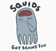 squids got brains too by Paul McClintock