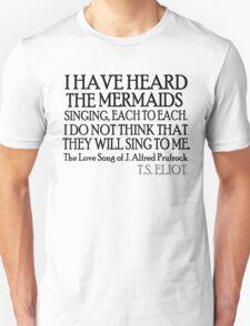 Prufrock's Mermaids T-Shirt
