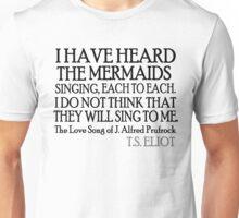 Prufrock's Mermaids Unisex T-Shirt