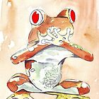 Tree frog by Maree  Clarkson